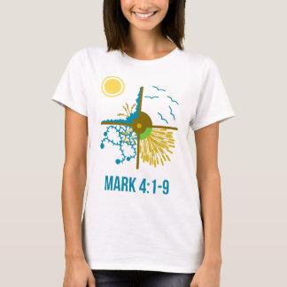 Parabole du semeur/quatre sols - évangile de t-shirt