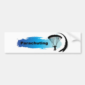 Parachutage unique autocollant pour voiture