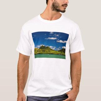 Parachute ascensionnel dans la vue du lion t-shirt