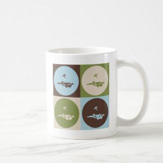 Parachutisme d'art de bruit mug