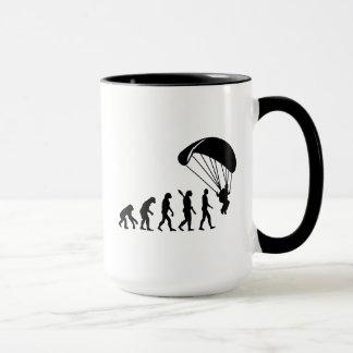 Parachutisme d'évolution mug