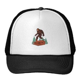 Paradis de Bigfoot Casquettes