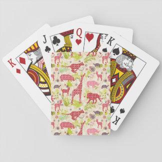 Paradis de jungle jeu de cartes