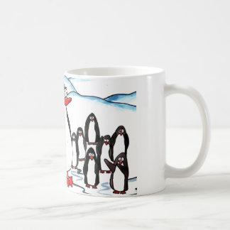 Paradis de pingouin mug