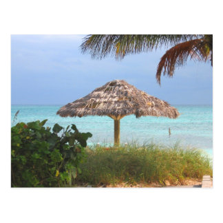 Paradis de plage de Bahama Cartes Postales