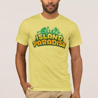 Paradis d'île - le T-shirt jaune des hommes