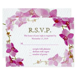 Paradis d'orchidée, cartes de réponse