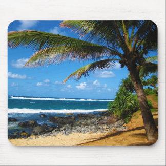 Paradis hawaïen tapis de souris