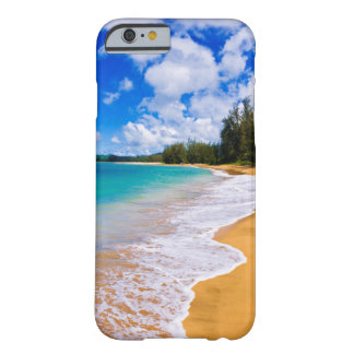 Paradis tropical de plage, Hawaï Coque iPhone 6 Barely There