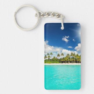 Paradis tropical porte-clef