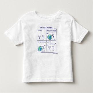 Paradoxe jumeau t-shirt pour les tous petits