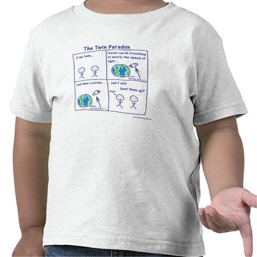 Paradoxe jumeau t-shirts