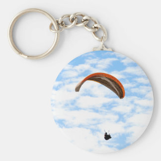 Parapentisme dans les nuages - porte - clé porte-clés
