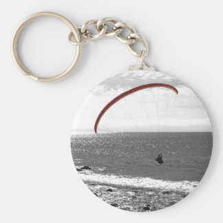Parapentisme par le porte - clé d'océan porte-clés