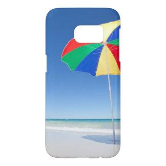 Parapluie sur la plage | Australie Coque Samsung Galaxy S7