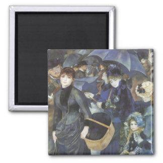 Parapluies par Pierre Renoir, impressionisme Aimant