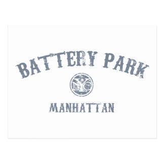 Parc de batterie carte postale