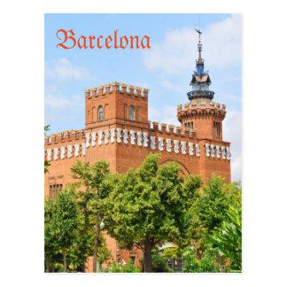 Parc de la Ciutadella à Barcelone Carte Postale