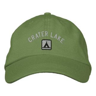 Parc de LakeNational de cratère Casquette Brodée