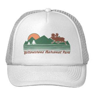 Parc de Yellowstone Casquettes De Camionneur