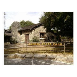 Parc d'état de grenier, le Texas Carte Postale
