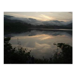 Parc d'état de lac cove, carte postale du