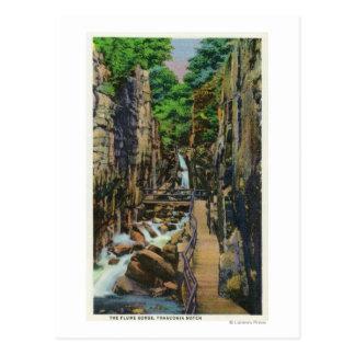 Parc d'état d'entaille de Franconia 2 Carte Postale