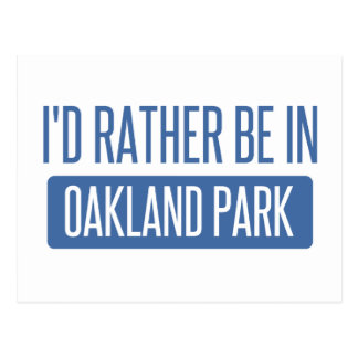Parc d'Oakland Cartes Postales