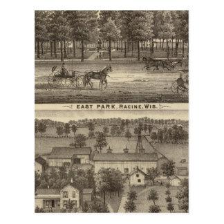 Parc est, Racine et ferme d'Oakland Carte Postale