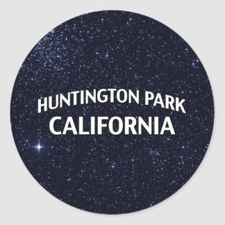 Parc la Californie de Huntington Sticker Rond
