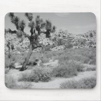 Parc national 3 d'arbre de B&W Joshua Tapis De Souris
