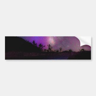 Parc national d'arbre de Joshua Autocollant De Voiture