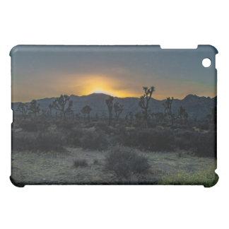 Parc national d'arbre de Joshua de lever de soleil Coque iPad Mini
