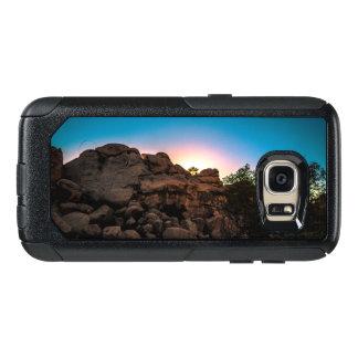 Parc national d'arbre de Joshua de lever de soleil Coque OtterBox Samsung Galaxy S7