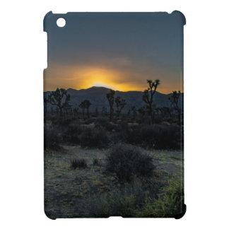 Parc national d'arbre de Joshua de lever de soleil Étui iPad Mini