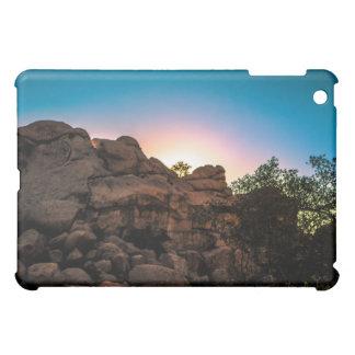 Parc national d'arbre de Joshua de lever de soleil Étuis iPad Mini