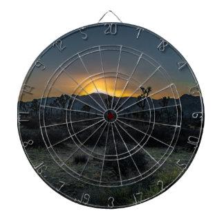 Parc national d'arbre de Joshua de lever de soleil Jeu De Fléchettes