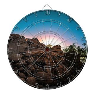 Parc national d'arbre de Joshua de lever de soleil Jeux De Fléchettes