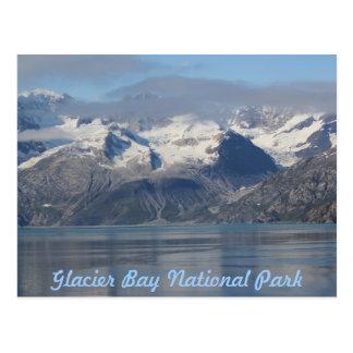 Parc national de baie de glacier, carte postale de
