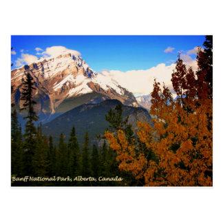 Parc national de Banff, Alberta, Canada les Cartes Postales