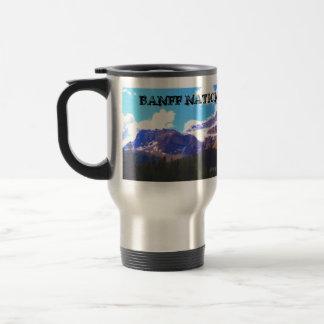 Parc national de Banff - aquarelle de glacier de Mug De Voyage