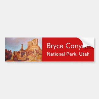 Parc national de canyon de Bryce Autocollant Pour Voiture