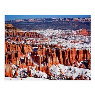 Parc national de canyon de Bryce Carte Postale