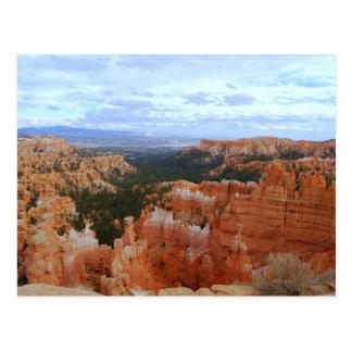 Parc national de canyon de Bryce, Utah, carte