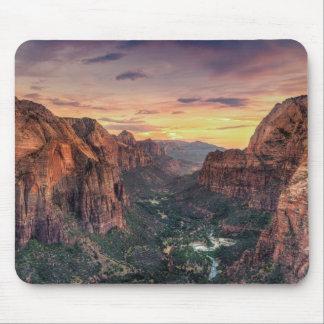 Parc national de canyon de Zion Tapis De Souris