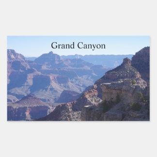 Parc national de canyon grand, jante du sud sticker rectangulaire