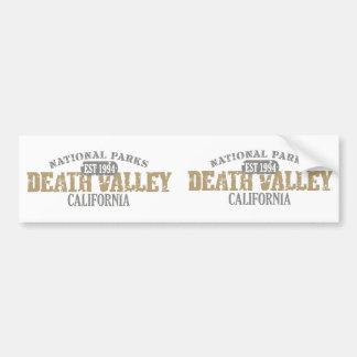 Parc national de Death Valley Autocollant De Voiture