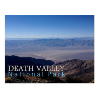 Parc national de Death Valley Carte Postale