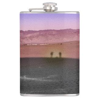 Parc national de Death Valley de lever de soleil Flasques