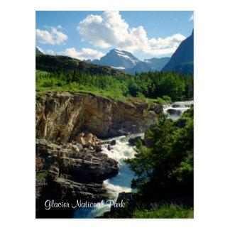 Parc national de glacier carte postale